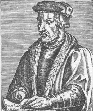 Agrippa von Nettesheim - often also referred to as the historical Dr. Faust