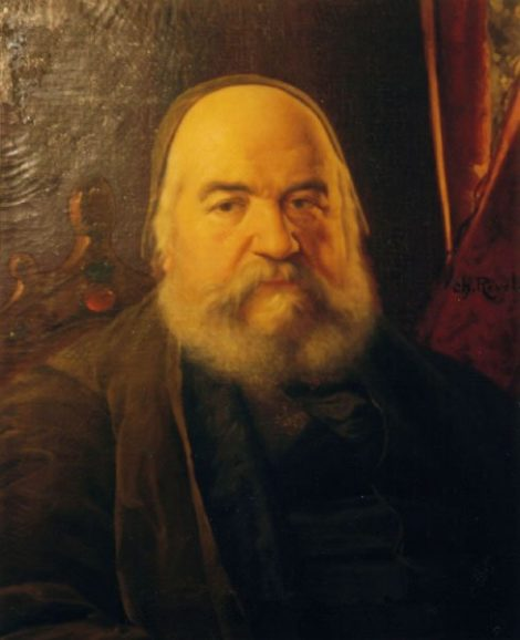 Eliphas Levi - Portrait 1874 - color