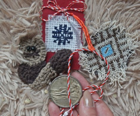 Rope of the Year - Martisor Talisman with Coin