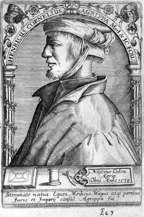 Agrippa von Nettesheim, Portrait by Boissard