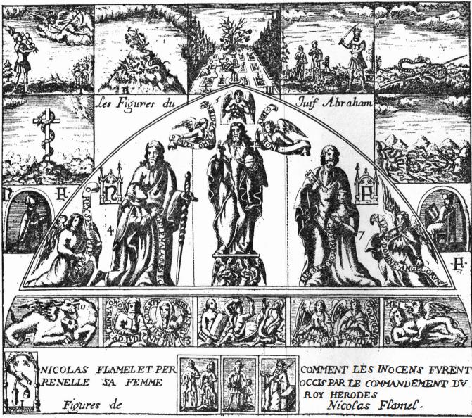 Nicolas Flamel – The Scribe Living (in) the Alchemist's Dream