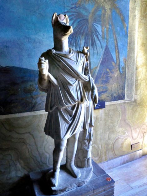 Statue of Hermanubis at Vatican Museum:
