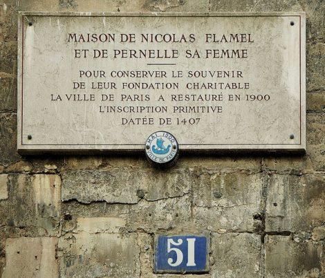 51 rue de Montmorency, Paris, the house of Nicolas Flamel is