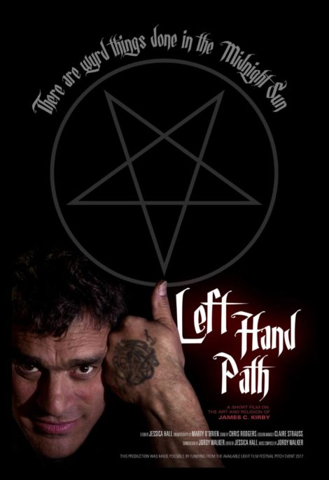 Left Hand Path - There are Wyrd Things Done in the Midnight Sun - Official Poster for the film by Jessica Hall