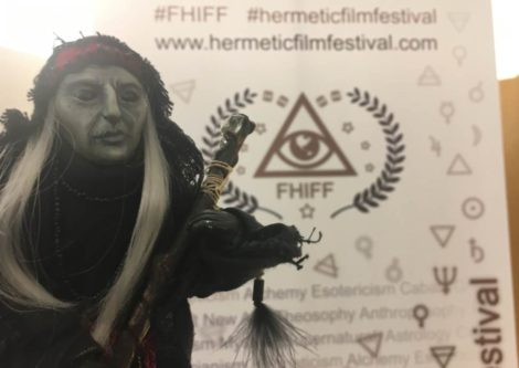 Witch Nettle among the guests at the First International Hermetic Film Festival 2018 in Venice