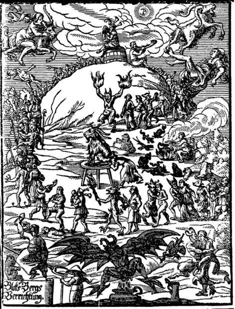 Witches' Sabbath - Johannes Praetorius: Blockes-Berges Verrichtung, Leipzig, 1668