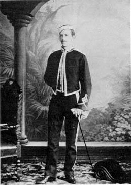 Samuel Liddel MacGregor Mathers as Lieutenant.