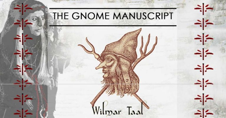Interview with Wilmar Taal on »The Gnome Manuscript« and Gnomes in The Netherlands