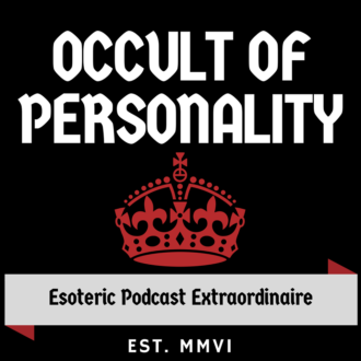 """Occult of Personaility"" - The current logo of the occult / esoteric podcast. 2020."