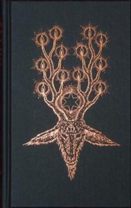 The devils dozen - hardback edition with gold print of horned witches god