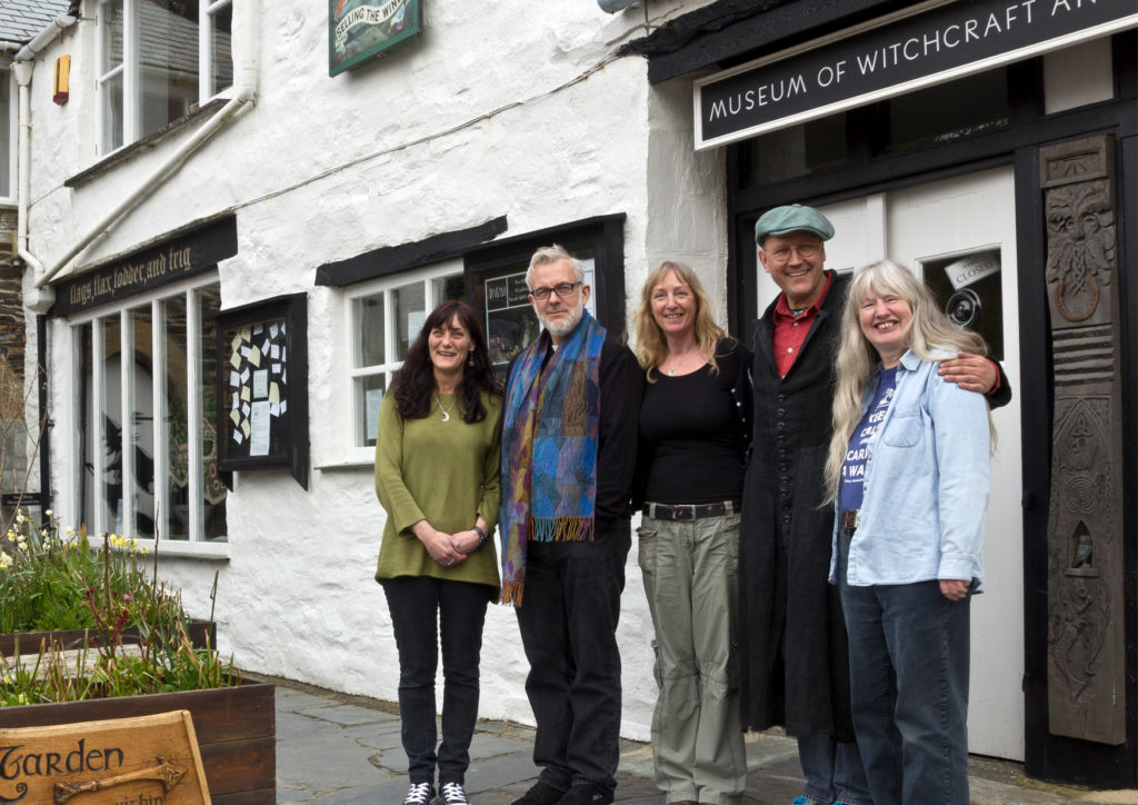 The Museum Team from left to right, Hannah, Fergus, Gypsy, Simon and Joyce.